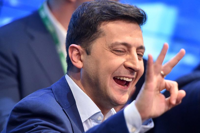 Wołodymyr Zełenski /AFP