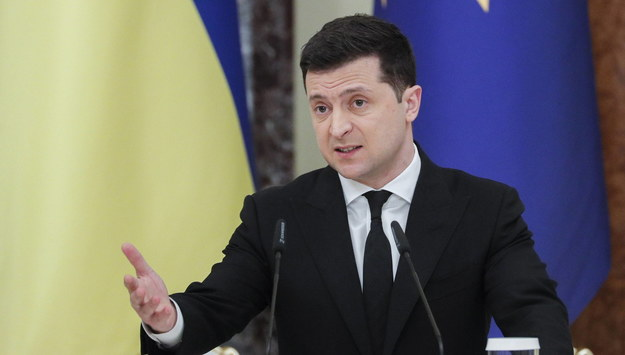 Wołodymyr Zełenski /SERGEY DOLZHENKO /PAP/EPA