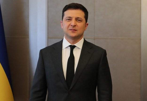 Wołodymyr Zełenski /TURKISH PRESIDENTAL PRESS OFFICE / HANDOUT /PAP/EPA