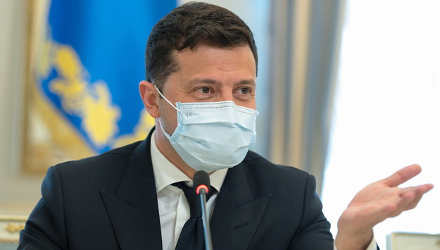 Wołodymyr Zełenski /PRESIDENTIAL OFFICE /PAP/EPA