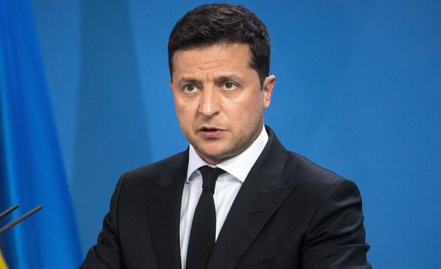 Wołodymyr Zełenski /PAP/EPA