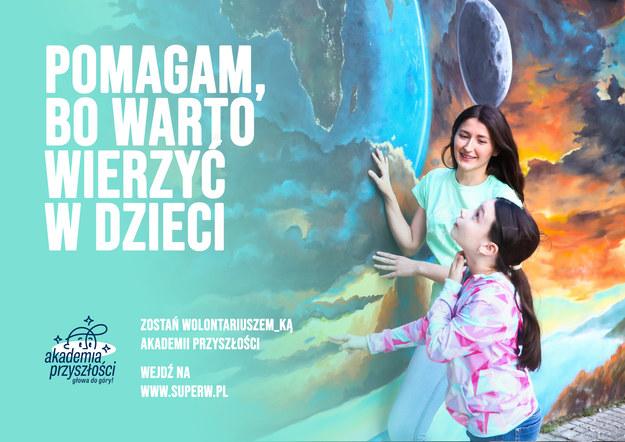 Wolontariusze i wolontariuszki Akademii Przyszłości poszukiwani! /Stowarzyszenie WIOSNA /Materiały prasowe