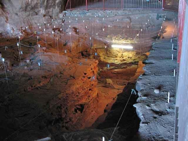 Wonderwerk Cave w środku /materiały prasowe