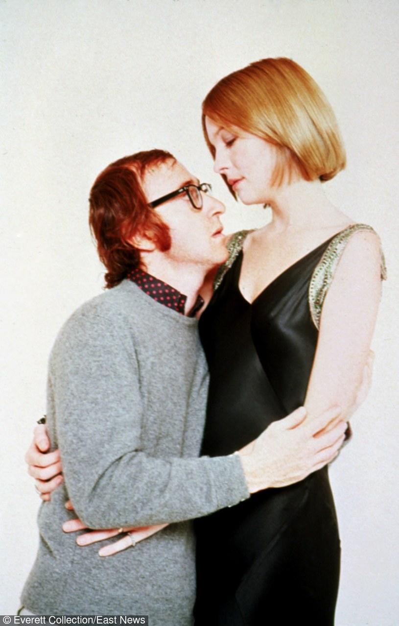 """Woody Allen i Diane Keaton w filmie """"Zagraj to jeszcze raz, Sam"""" /Everett Collection /East News"""