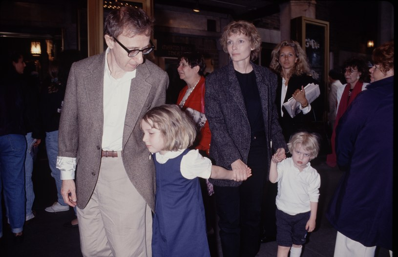 Woody Allen i Mia Farrow z dziećmi /Time & Life Pictures /Getty Images