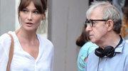 Woody Allen kręci z Carlą Bruni