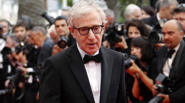 Woody Allen na festiwalu w Cannes /AFP