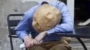 Woody Allen śpi na planie