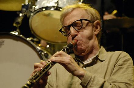 Woody Allen w akcji fot. Chris Gordon /Getty Images/Flash Press Media