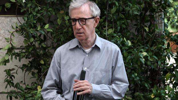 """Woody Allen w scenie z filmu """"Zakochani w Rzymie"""" /materiały dystrybutora"""