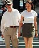 Woody Allen z Soon-Yi /INTERIA.PL