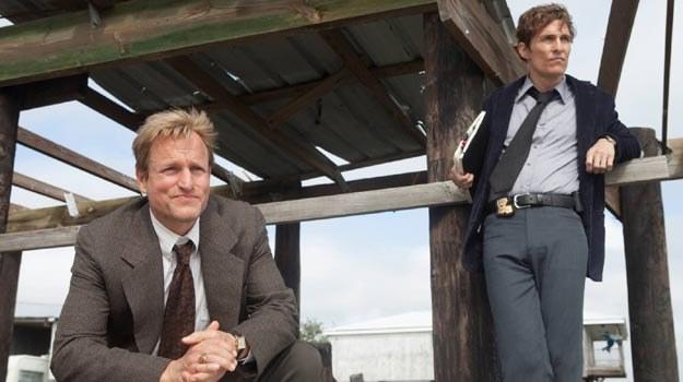 """Woody Harreslon i Matthew McConaughey w serialu """"True Detective"""". /materiały prasowe"""