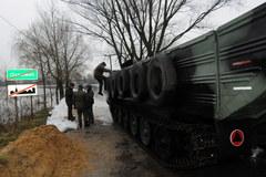 WOPR i wojsko pomagają mieszkańcom Ostrówka