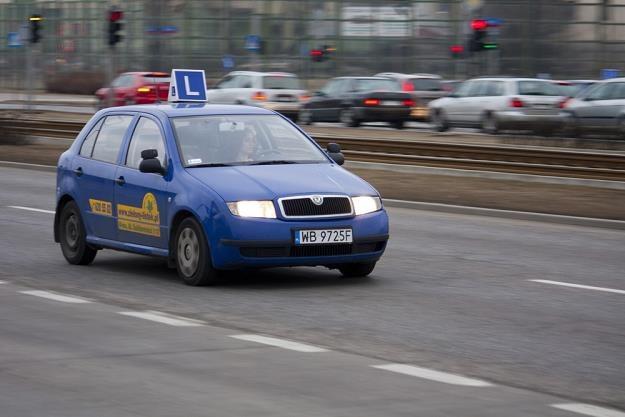 WORD-y nie chcą egzaminować na autach szkół jazdy / Fot: Krystian Dobuszyński /Reporter