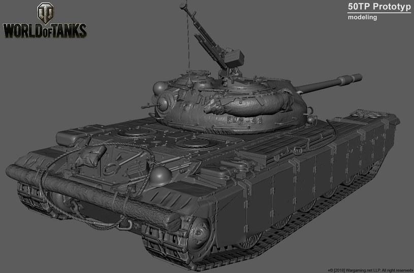 World of Tanks - proces modelowania pojazdu /materiały prasowe