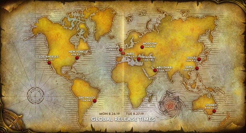 World of Warcraft Classic - konkretne daty premier w różnych rejonach świata /materiały prasowe