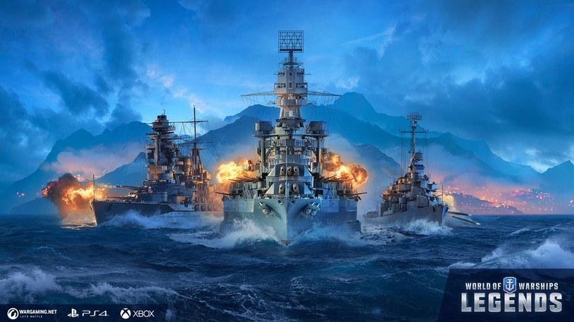 World of Warships: Legends /materiały prasowe