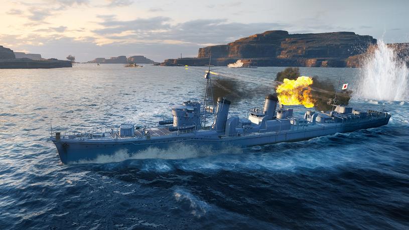 World of Warships Legends /materiały prasowe