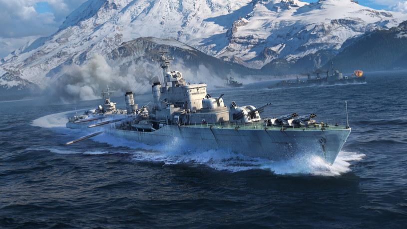 """World of Warships - okręt """"Gryf"""" /materiały prasowe"""