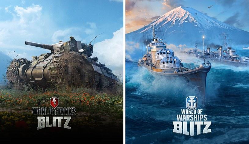 World of Wartanks Blitz i World of Warships Blitz /materiały prasowe