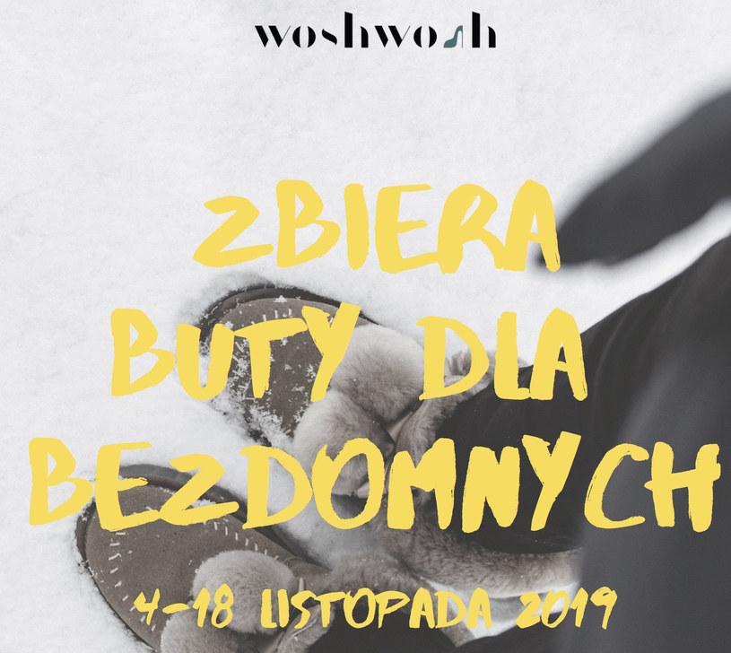 WoshWosh znowu zbierze buty dla bezdomnych /INTERIA.PL/materiały prasowe
