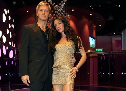 Woskowi David i Victoria Beckhamowie (tutaj w Szanghaju) - fot. ChinaFotoPress /Getty Images/Flash Press Media