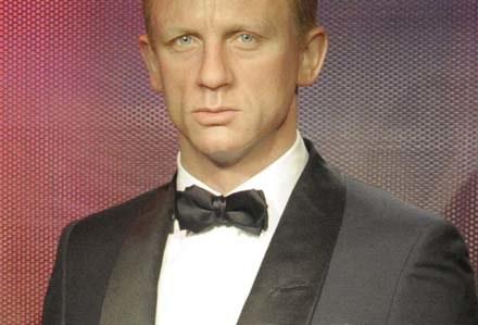 Woskowy Daniel Craig z londyńskiego Madame Tussauds /AFP