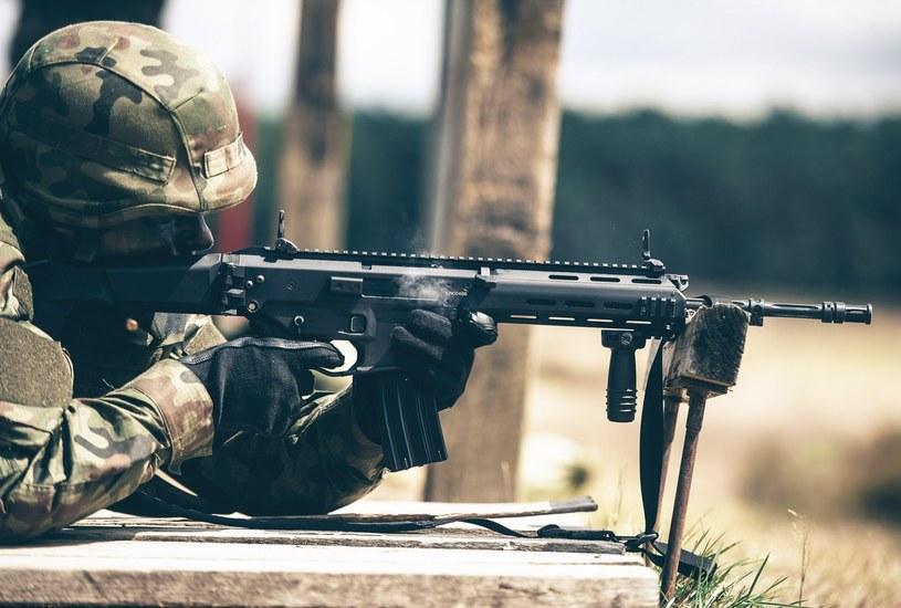 """WOT jest gestorem zakupu wielu rodzajów nowego sprzętu. Np. do """"terytorialsów"""" trafiły najnowsze karabinki Grot /Wojska Obrony Terytorialnej /materiały prasowe"""