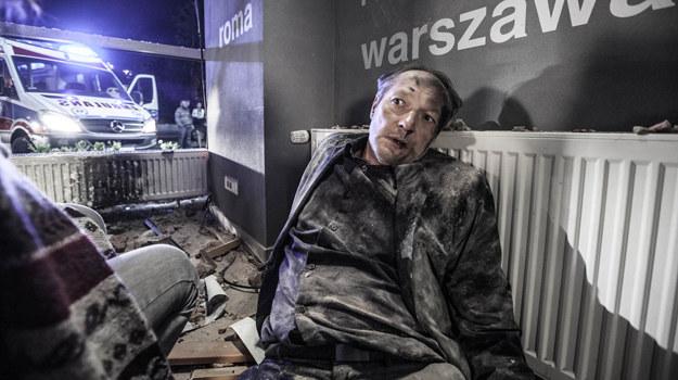 Woydatt (Tomasz Dedek) po wypadku na lotnisku zostanie sparaliżowany /Grzegorz Gołębiowski /ATM