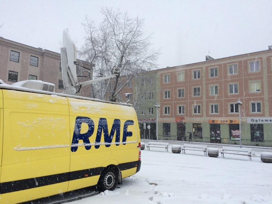 Wóz RMF FM w Mielcu /RMF FM
