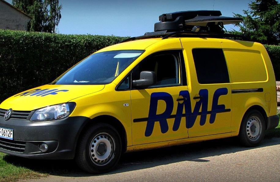 Wóz satelitarny RMF FM /Dariusz Proniewicz /RMF FM