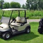 Wózkiem golfowym po... autostradzie!