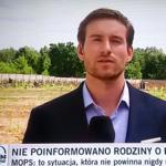 Wpadka na antenie TVN24. Reporter zaciął się na wizji