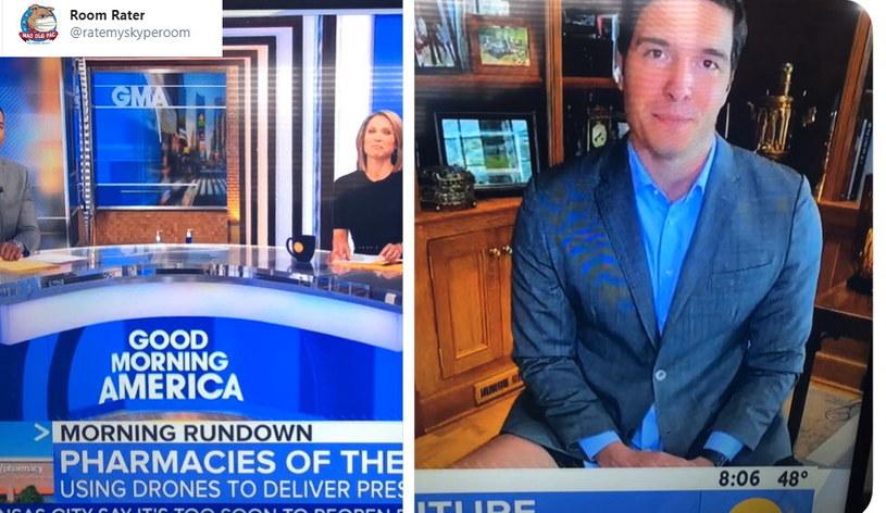 Wpadka reportera ABC News. /Twitter