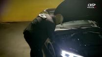 Wpadka złodziei samochodów