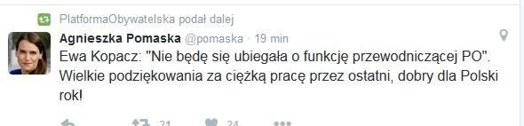 Wpis Agnieszki Pomaski /