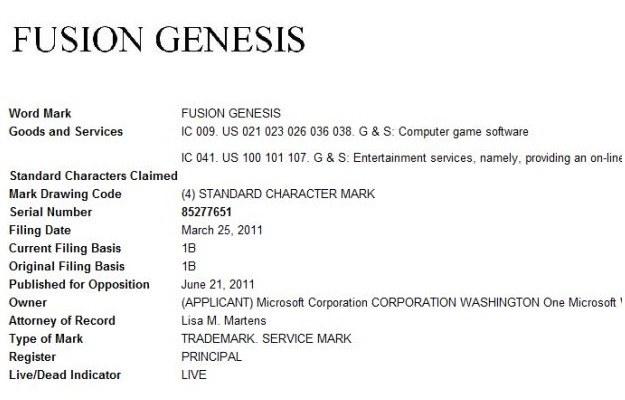 Wpis dotyczący Fusion: Genesis /CDA