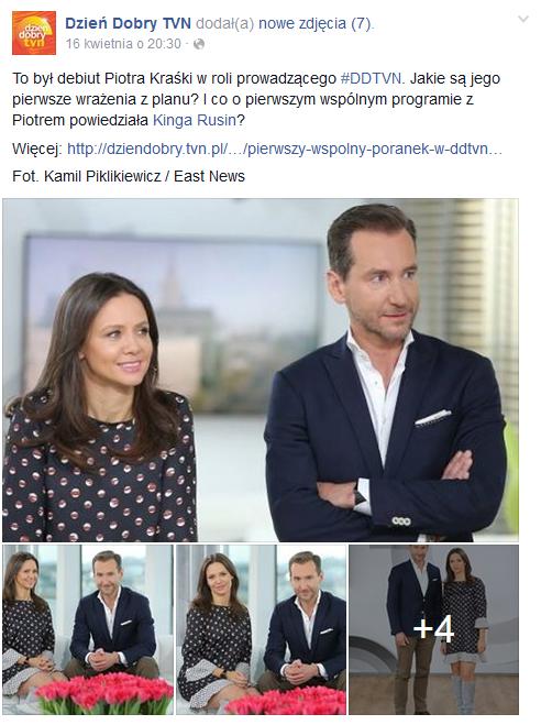 "Wpis na profilu programu ""Dzień Dobry TVN"" /Facebook"