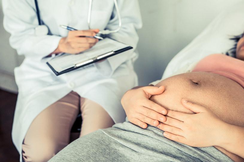 Wpis o otyłości kobiet w ciąży opublikowany przez panią Gizelę Jagielską wzbudził ogromne emocje w internautach /123RF/PICSEL