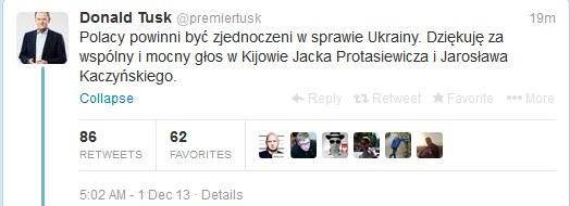 Wpis premiera na Twitterze, fot. Twitter /