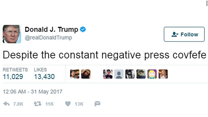Wpis prezydenta USA /Twitter