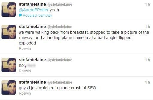 """Wpis użytkownika """"stefanielaine"""" /Twitter"""