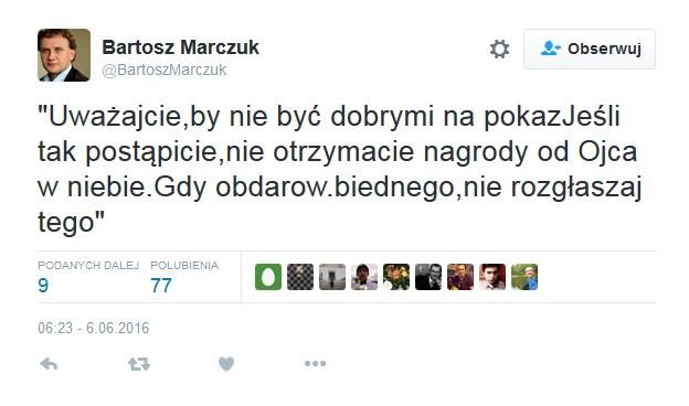 Wpis wiceministra /Twitter
