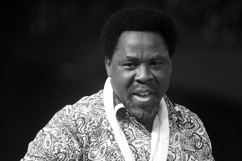Wpływowy kaznodzieja z Nigerii zmarł w wieku 57 lat /AFP /East News