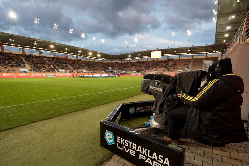 Wpływy ze sprzedaży praw telewizyjnych to dla klubów PKO Ekstraklasy często fundament rocznego budżetu /Piotr Dziurman/REPORTER /East News