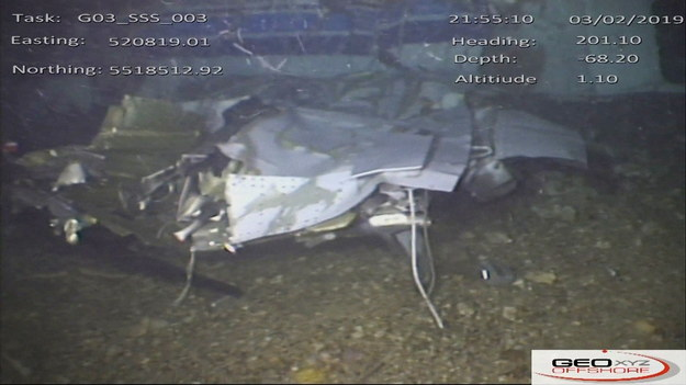 Wrak awionetki /Air Accidents Investigation Branch HANDOUT /PAP/EPA