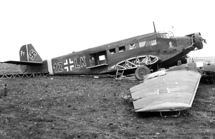 Wrak Junkersa Ju 52 (zdjęcie ilustracyjne) / Topfoto Archive    /Agencja FORUM