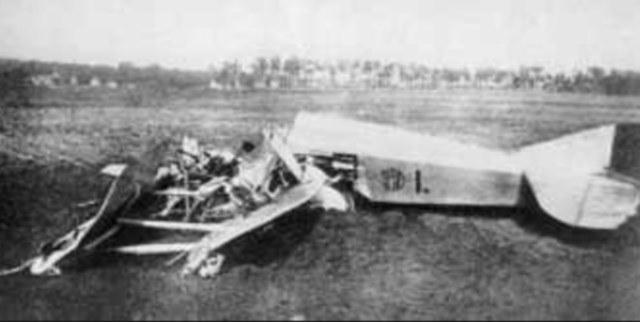 Wrak myśliwca SPAD VIIC1, w którym zginął Mieczysław Garsztka /Wikimedia Commons /materiały prasowe
