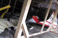 Wrak polskiego tupolewa dwa lata po katastrofie