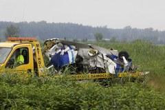 Wrak samolotu we Wsoli został usunięty